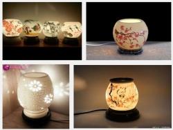 Sưởi ấm không gian gia đình bạn với đèn xông hương tinh dầu